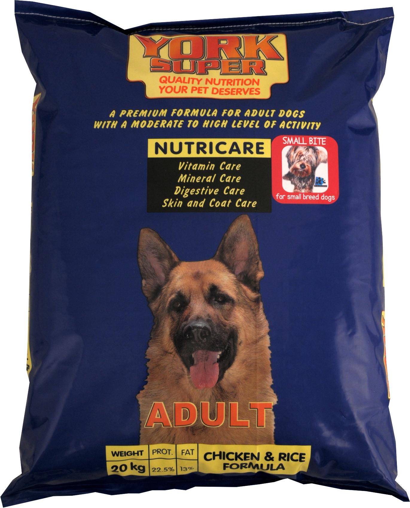 york-super-mini-20kg-dog-food
